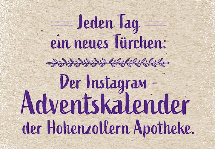Der Instagram Adventskalender: Jeden Tag ein neues virtuelles Türchen