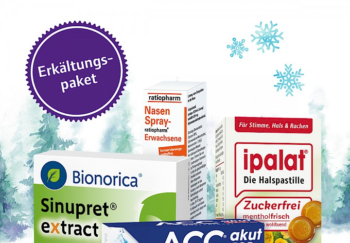 Erkältungspaket - Spezial Angebot