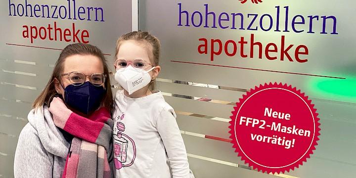 FFP2 Masken für Kinder